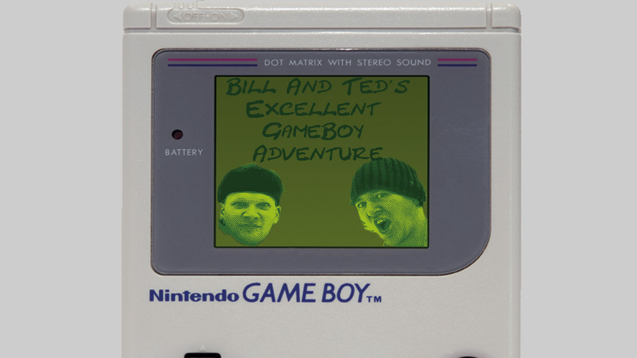 Bill and Ted GameBoy