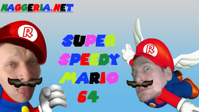 """Super """"Speedy"""" Mario 64 (Let's Play: Super Mario 64)"""