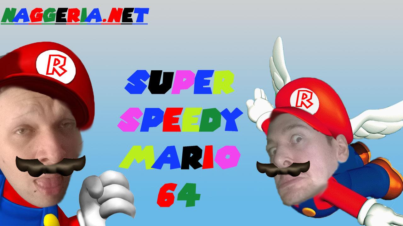 Super Speedy Mario 64 Renton Version